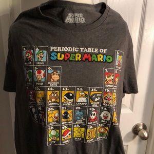 Super Mario T-shirt size large
